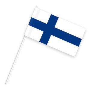 Finnland Länderflagge als finnische Nationalflagge