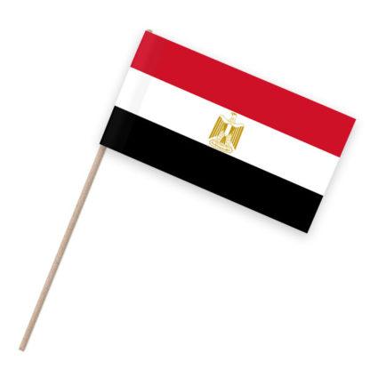 Ägypten Papierfähnchen Holzstab