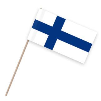 Papierfähnchen Holzstab Finnland