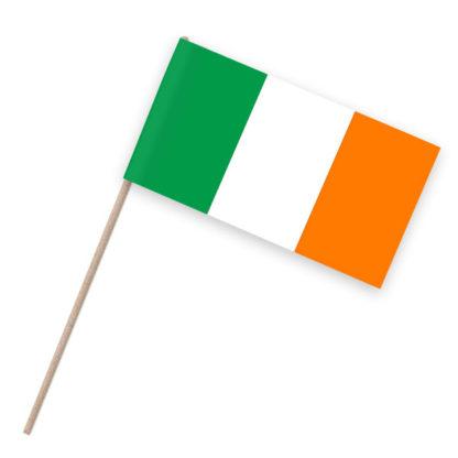Irland Papierfähnchen Holzstab