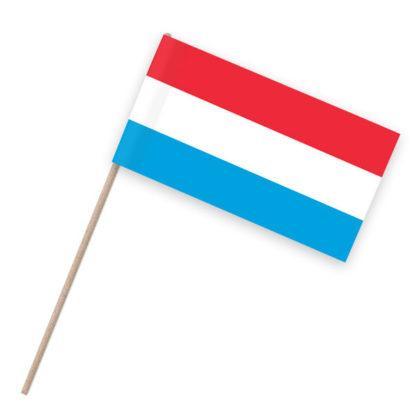 Niederlande Papierfähnchen Holzstab
