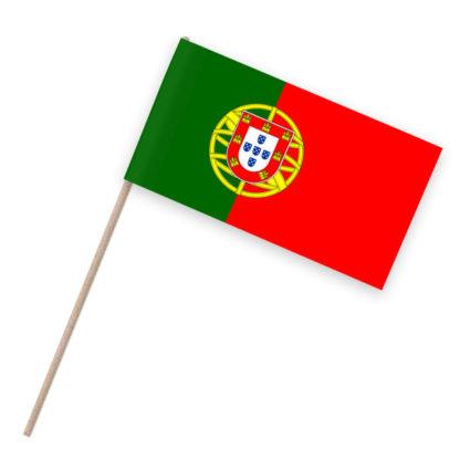 Portugal Papierfähnchen Holzstab