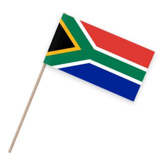 Südafrika Papierfähnchen Holzstab